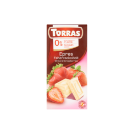 Torras Epres fehércsokoládé 75 g