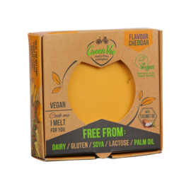 GreenVie növényi sajt cheddar 250 g