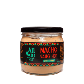 All In Nacho csípős vegán sajtszósz 250 g
