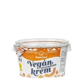 VeganChef kenhető növényi szendvicskrém cheddar ízű 150 g