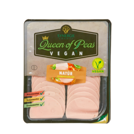 Queen of Peas natúr gluténmentes vegán szendvicsfeltét 100 g