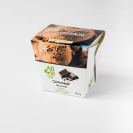 All In Csokoládé ízű jégkrém 380 g