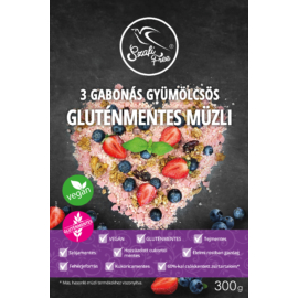 Szafi Free 3 Gabonás gyümölcsös müzli (gluténmentes) 300 g