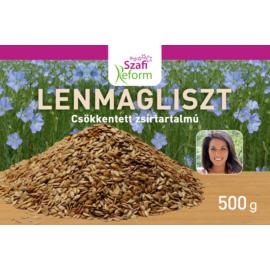 Szafi Reform Lenmagliszt (csökkentett zsírtartalmú) 500 g