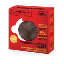 Majomkenyér Törökmogyorós paleo keksz 100 g