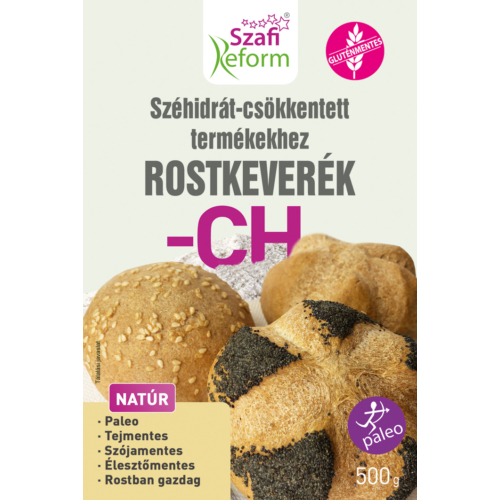 Szafi Reform Szénhidrát-csökkentett termékekhez ROSTKEVERÉK 500 g